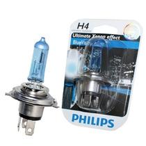 Lampada Blue Vision H4 Tipo Xenon Super Branca Philips