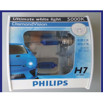 Lâmpadas Philips Diamond Vision H7 - 5000k Efeito Xenon