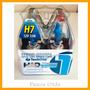 Kit Lampada Super Branca 2 H7+2 H1+2 H11 Logan 14 À 16 F Dup