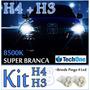 Kit Lampadas Super Brancas 2 H4 +2 H3 Honda Civic 96 À 98