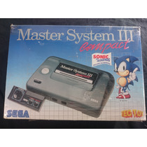 Video Game Master System 3 Compact Na Caixa Completo