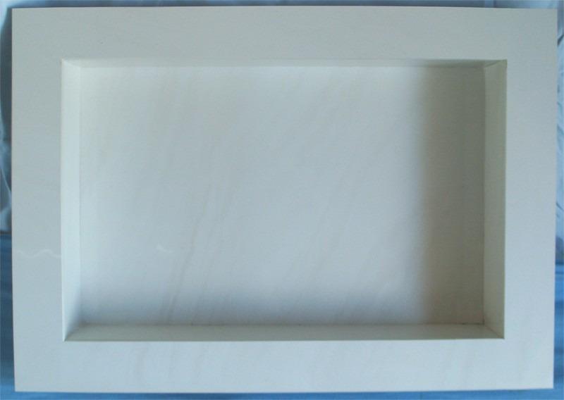 Nicho Para Banheiro Em Porcelanato  R$ 190,00 no MercadoLivre -> Nicho Banheiro Porcelanato