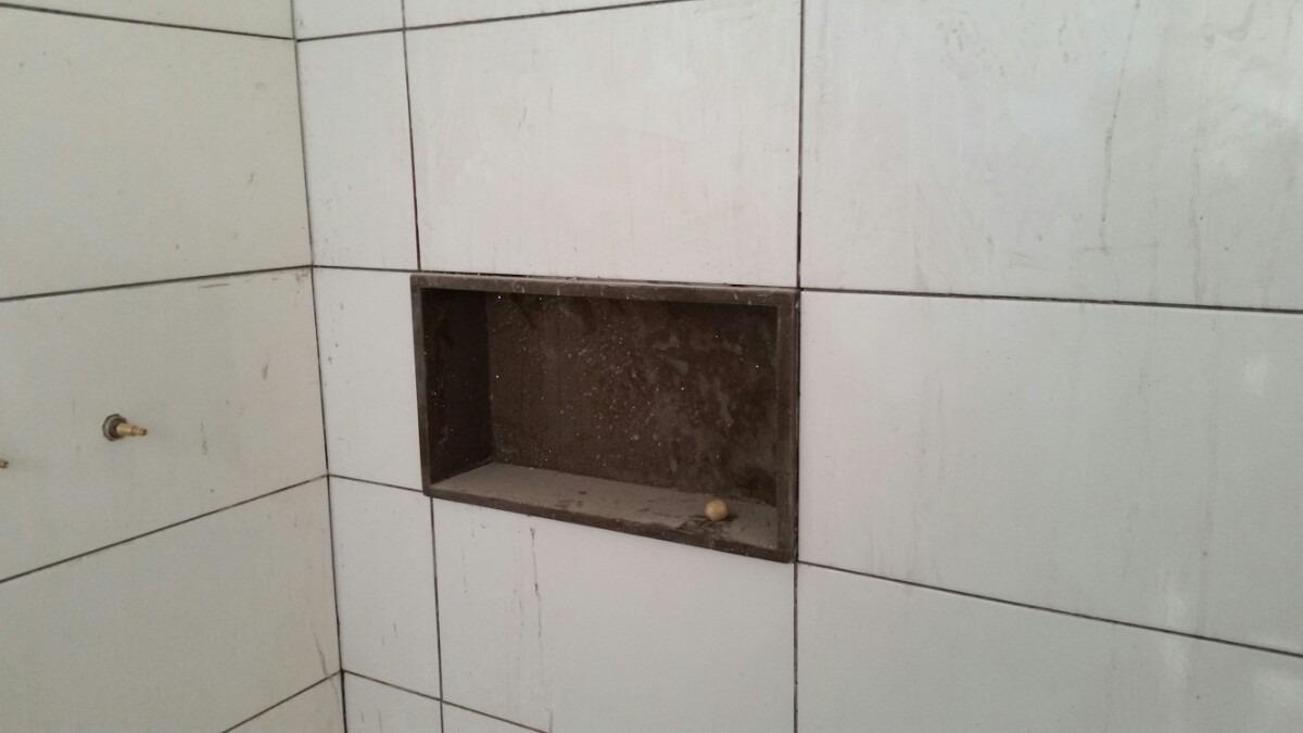 Nicho Pra Banheiro  R$ 90,00 no MercadoLivre # Nicho Banheiro Porcelanato Preco