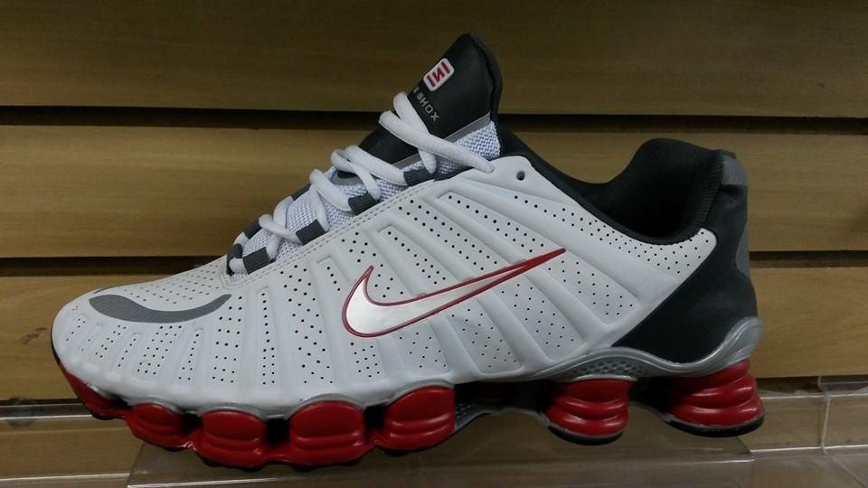 6fac43ea431 Mlb 714972078 Nike 12 Molas Shox Tlx Original Entrega Imediata Jm . ...