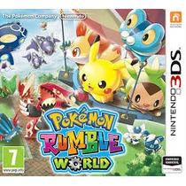 Pokémon Rumble World - 3ds - Pronta Entrega!