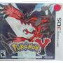 Pokemon Y Nintendo 3ds Lacrado Novo Envio Imediato