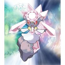 Pokémon Diancie Legítimo Evento Jp E Usa Via Wi-fi 3ds X Y