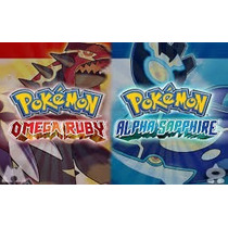 Pokemon Shiny/normal Para X/y E Omega Ruby/alpha Sapphire