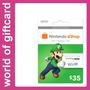 Cartão Nintendo Eshop 3ds/wii U $35 Estados Unidos Por Email