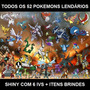 Pacote Pokemon X Y Or As - 53 Lendários + Itens + Hoopa