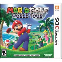 Mario Golf World Tour Novo/lacrado - Envio Gratuito