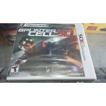 Splinter Cell 3d Lacrado Para Nintendo 3ds