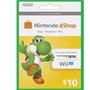 Cartão Nintendo 3ds Wii U Eshop Cash Card $10 Envio Imediato