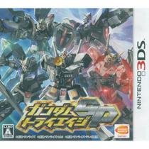 Mobile Suit Gundam: Try Age Sp 3ds Japonês!raro De Encontrar