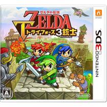 The Legend Of Zelda Triforce Heroes 3ds Japonês