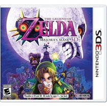 3ds The Legend Of Zelda: Majora