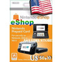 Cartão Nintendo 3ds - Wii U Eshop Cash Card $60 ($50+$10)usa