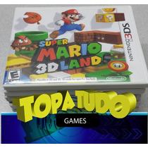 Super Mario 3d Land, Com Garantia Em Bh, Maleta