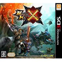 Monster Hunter X 3ds Japonês
