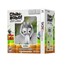 Chibi-robo! Zip Lash 3ds Nintendo Bundle + Amiibo E-sedex