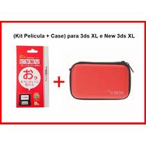 Capa Hard Case Nintendo 3ds Xl + Kit Películas Promoção!