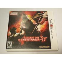 Resident Evil Mercenaries 3d - Completo - Em 12x S/ Juros