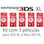 Kit 5 Peliculas New 3ds Xl Nintendo 3ds Xl Proteção Tela