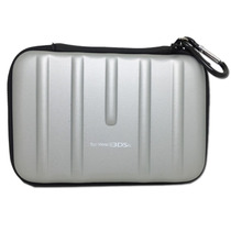 Bolsa Case Capa Protetora Nintendo For New 3ds Xl Ll Prata
