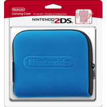 Carrying Case Oficial Nintendo Para 2ds Com Porta Cartucho