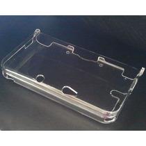 Case - Capa De Acrílico Transparente Para Nintendo 3ds Xl -
