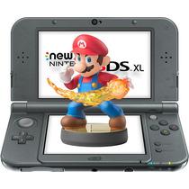 New Nintendo 3ds Xl + Amiibo Super Smash Bros + Carregador