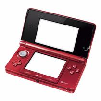 Nintendo 3ds Vermelho Red Flame - Impecável - Pronta Entrega