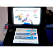 Nintendo 3ds Xl Azul Com 3 Jogos Originais + Case Do Luigi