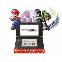 Nintendo 3ds Xl - Desb. + Brindes