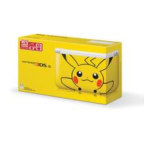 Nintendo 3ds Xl Edição Pikachu Pokemon + 4gb + 6 Ar Cards