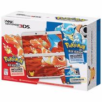 New Nintendo 3ds Bundle Pokemon Red Blue Edição 20 Anos