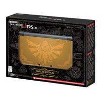 New Nintendo 3ds Xl Hyrule Gold Edition Zelda + Carregador