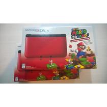Nintendo 3ds Xl Vermelho + Super Mario 3d Land