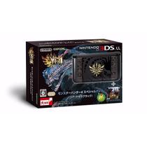 Nintendo 3ds Ll Edição Especial Monster Hunter 4! - Japonês
