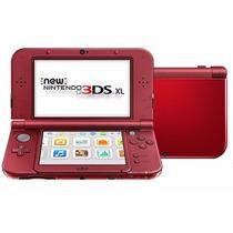 New 3ds Xl Nintendo Vermelho Original