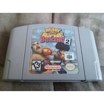 Jogo Original Nintendo 64 Ready 2 Rumble Boxing: Round 2