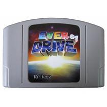 Everdrive 64 Super Promoção Com Case E Label Só Esta Semana!