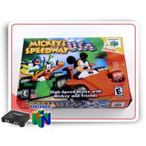 N64 Caixa Mickeys Speedway Usacom Berço Nintendo 64