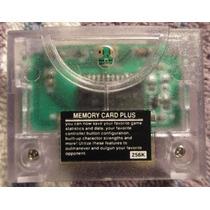 N-64: Memory Card 256 Plus Novo!! Salve Todos Seus Jogos!!