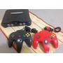 N64 Nintendo 64 Todo Original 2 Controles + 1 Jogo Escolha