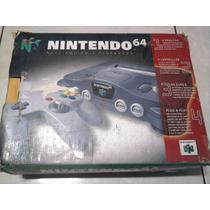 Nintendo 64 Na Caixa Completo Jogo A Escolha Ligar E Jogar!!
