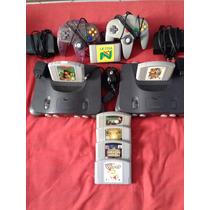 Nintendo 64 Completo Limpo Perfeito Estado
