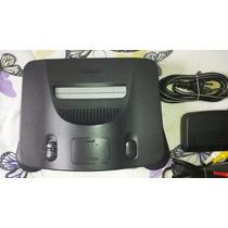 Nintendo 64 Zerado + 1 Controle + 1 Fita Super Mario 64