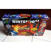 Super Nintendo 64 Novo Na Caixa Battle Set Pokemon Completo