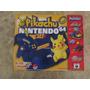 Nintendo 64 Edição Pikachu Set Novo Sem Uso Colecionadores!